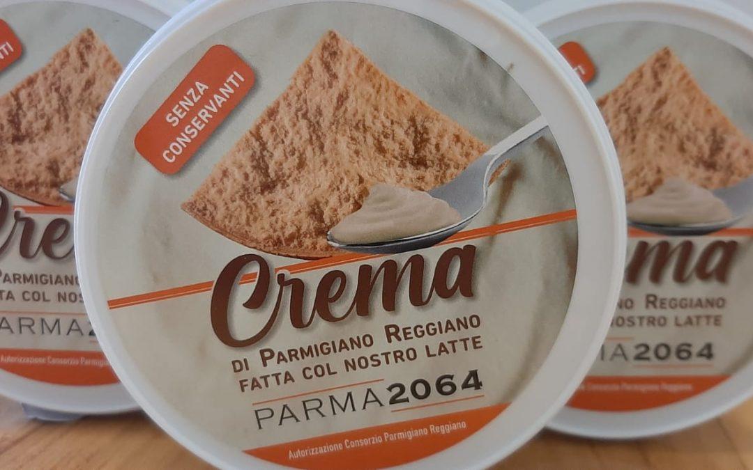 È nata la CREMA al Parmigiano Reggiano